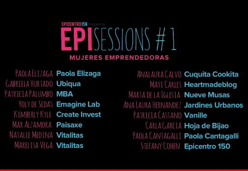 epissessions mujeres emprendedoras asistentes