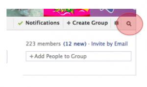 como crear un grupo en facebook busqueda